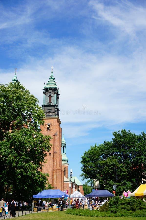 大教堂和市场 库存照片