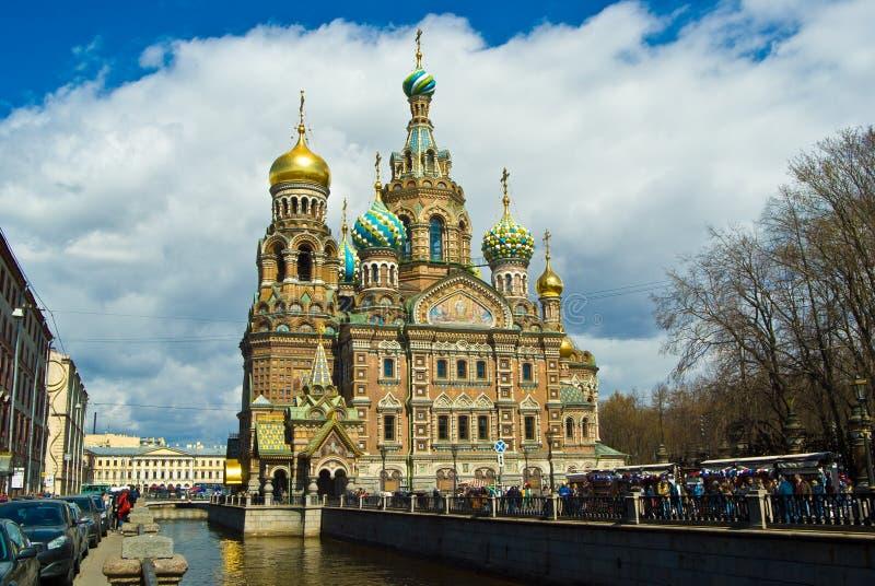 大教堂圆屋顶isaac ・彼得斯堡俄国s圣徒st 免版税库存图片