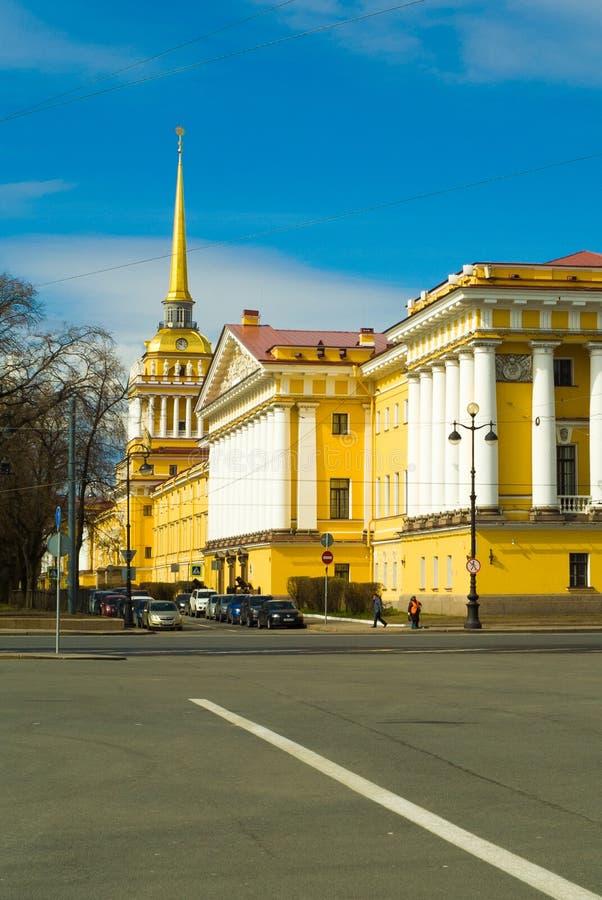 大教堂圆屋顶isaac ・彼得斯堡俄国s圣徒st 免版税图库摄影