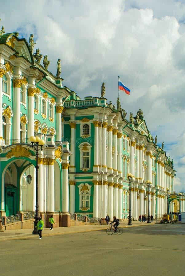 大教堂圆屋顶isaac ・彼得斯堡俄国s圣徒st 图库摄影