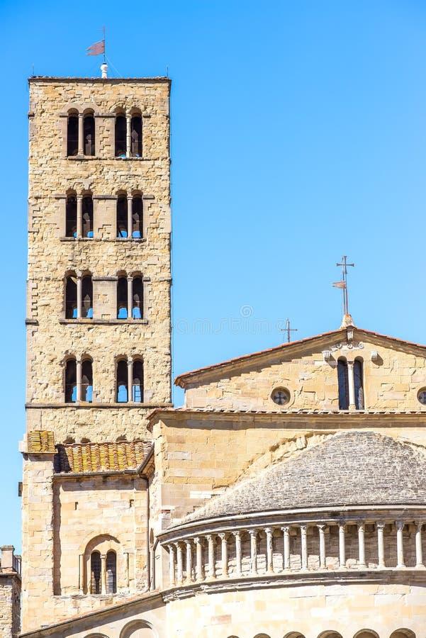 大教堂圣玛丽亚della皮耶夫的细节 免版税库存图片