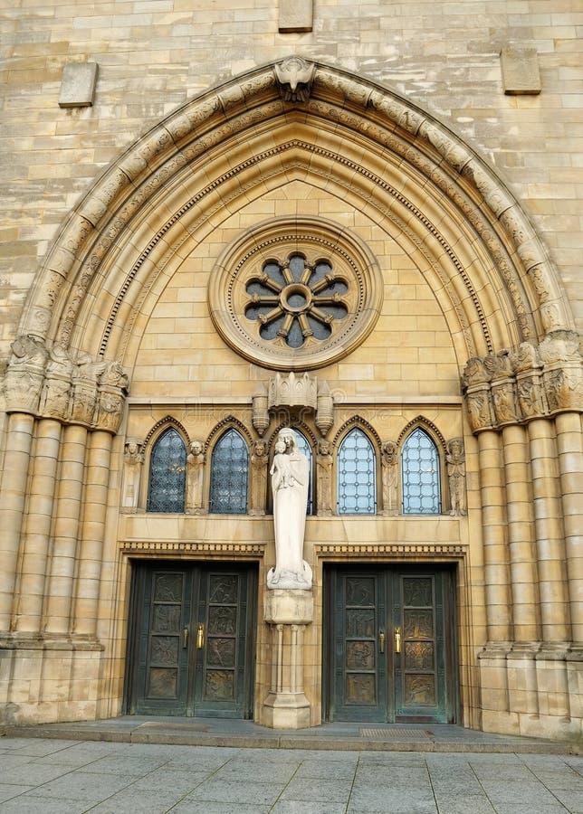 大教堂在卢森堡 图库摄影