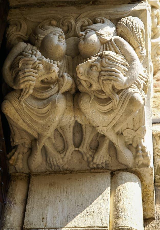大教堂在图卢兹,法国 图库摄影