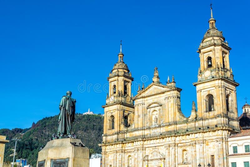 大教堂在波哥大,哥伦比亚 免版税图库摄影