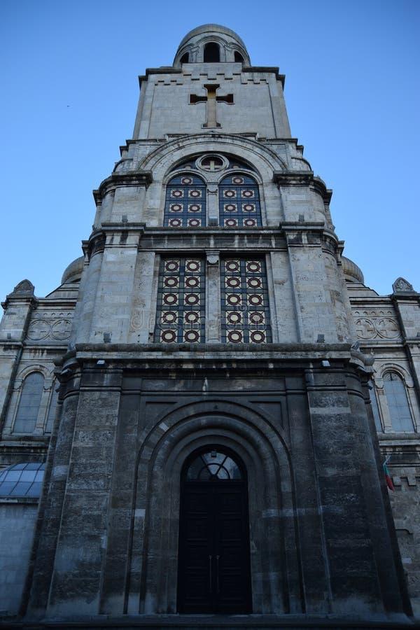 大教堂在瓦尔纳 库存图片