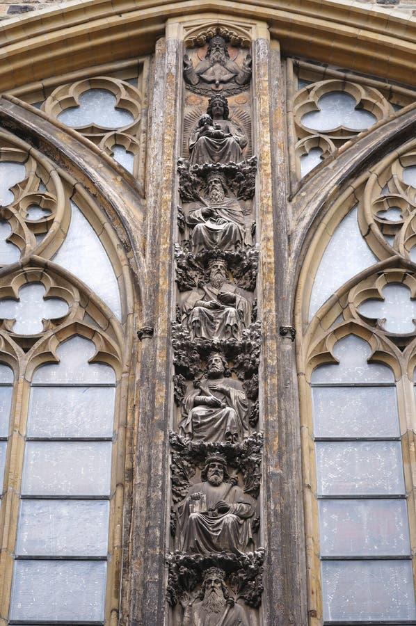 大教堂在马斯特里赫特 免版税库存图片