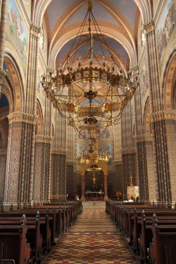 大教堂在Dakovo 免版税库存照片