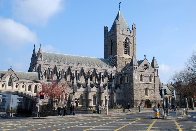 大教堂基督教会都伯林 库存图片
