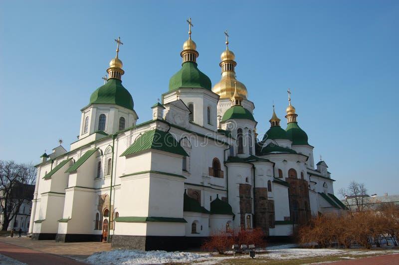 大教堂基辅圣徒sophia 免版税库存图片