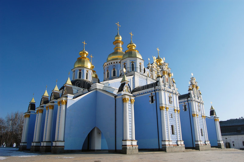 大教堂基辅迈克尔s圣徒 免版税库存照片