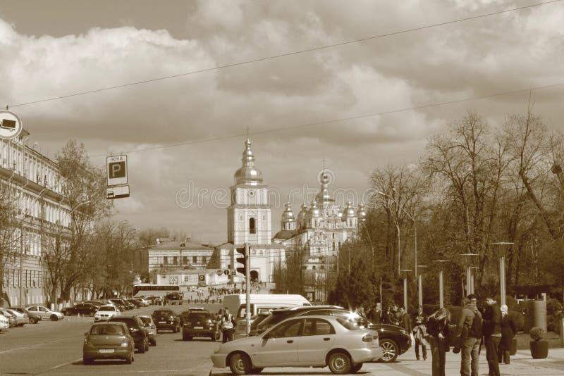 大教堂基辅迈克尔s st 图库摄影