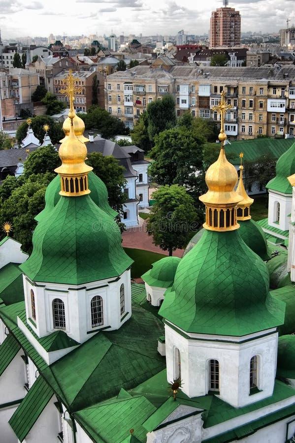 大教堂基辅sophia st 库存图片