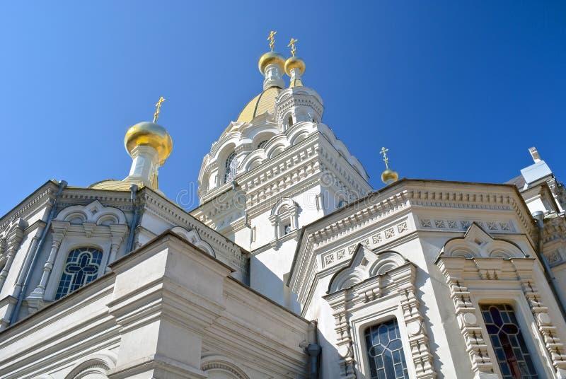 大教堂塞瓦斯托波尔 免版税库存图片