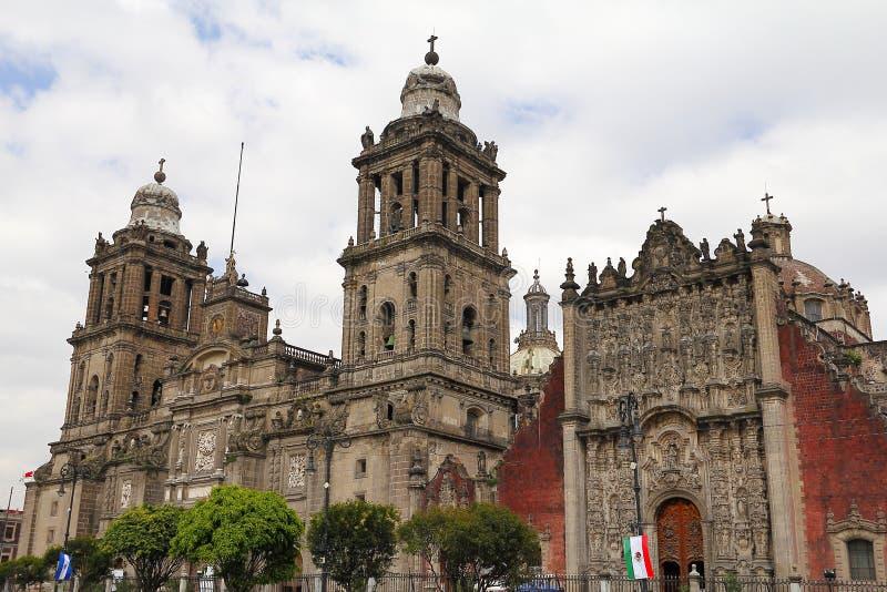 大教堂墨西哥城III 库存图片