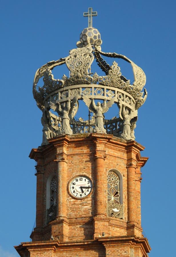 大教堂墨西哥Puerto Vallarta 免版税库存图片