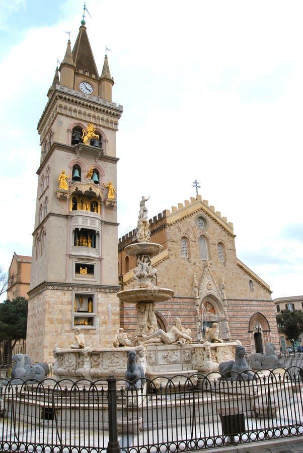 大教堂墨西拿 免版税图库摄影