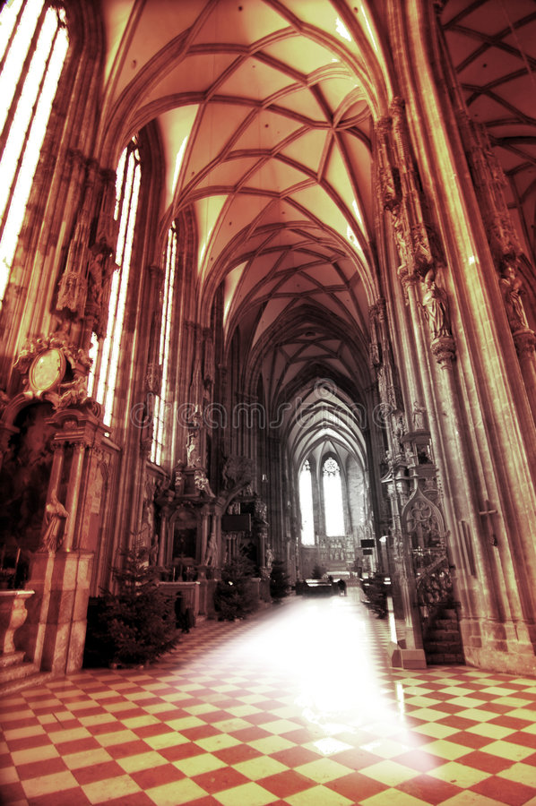 大教堂复活 免版税图库摄影