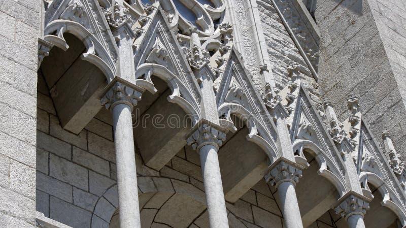 大教堂外部元素 库存照片