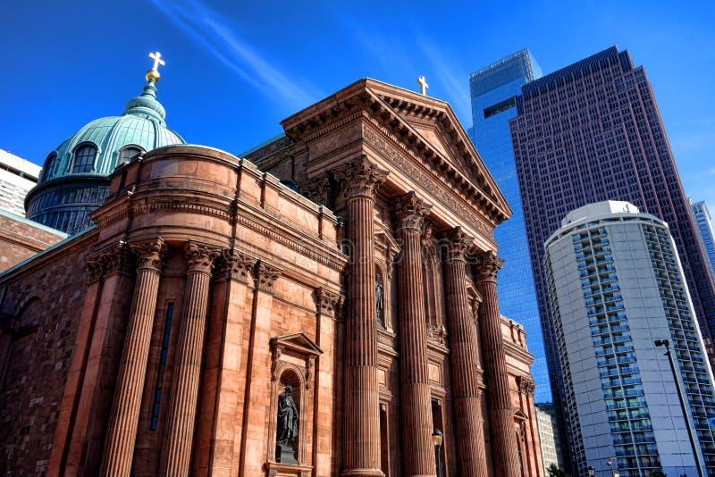 大教堂大教堂SS 彼得和保罗费城 库存图片