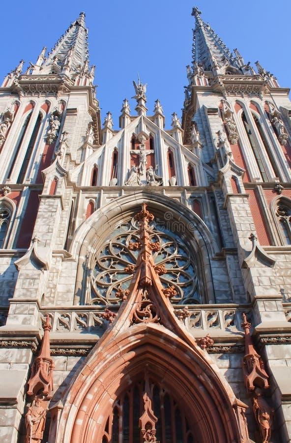 大教堂宽容kyiv尼古拉斯罗马st 免版税库存照片