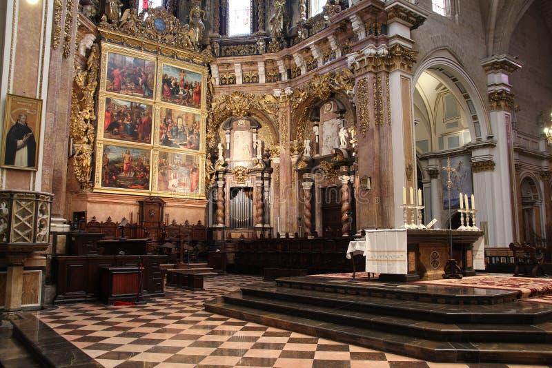 大教堂巴伦西亚 免版税库存照片
