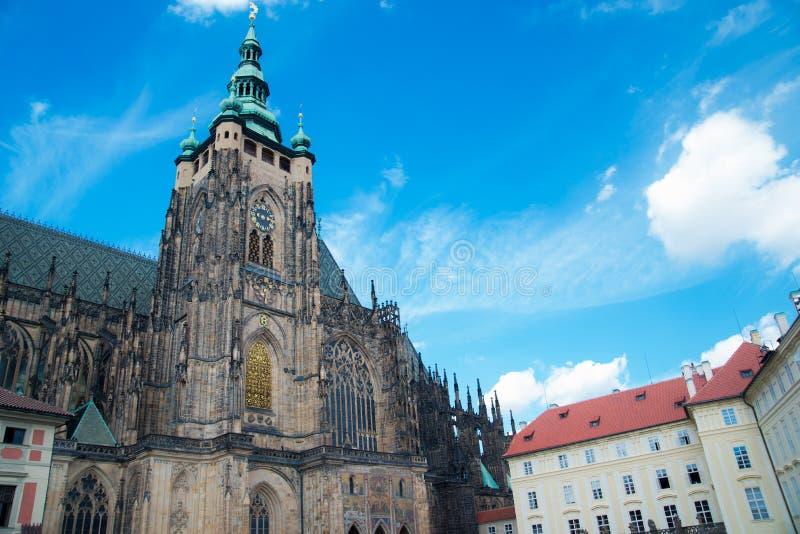 大教堂布拉格圣徒vitus 库存照片