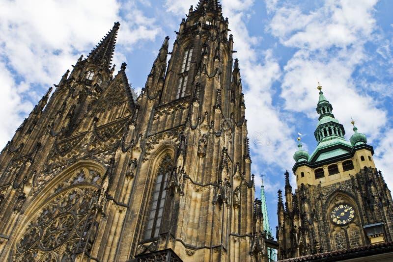 大教堂布拉格st vitus 免版税库存图片