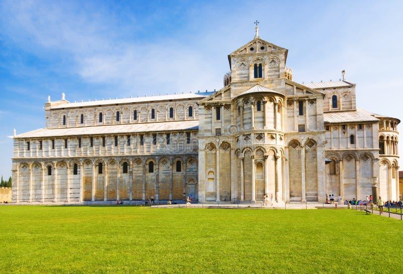 大教堂意大利比萨 免版税库存照片