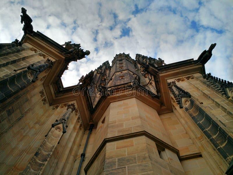 大教堂捷克布拉格共和国st vitus 图库摄影