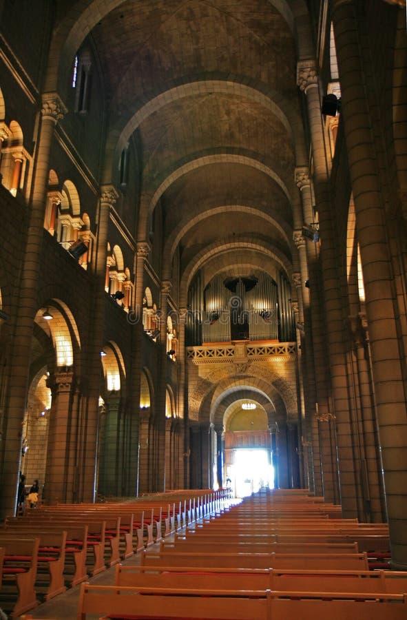 大教堂摩纳哥 免版税图库摄影