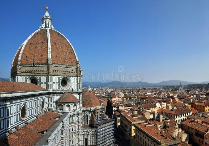 大教堂教会中央寺院佛罗伦萨意大利 免版税库存照片