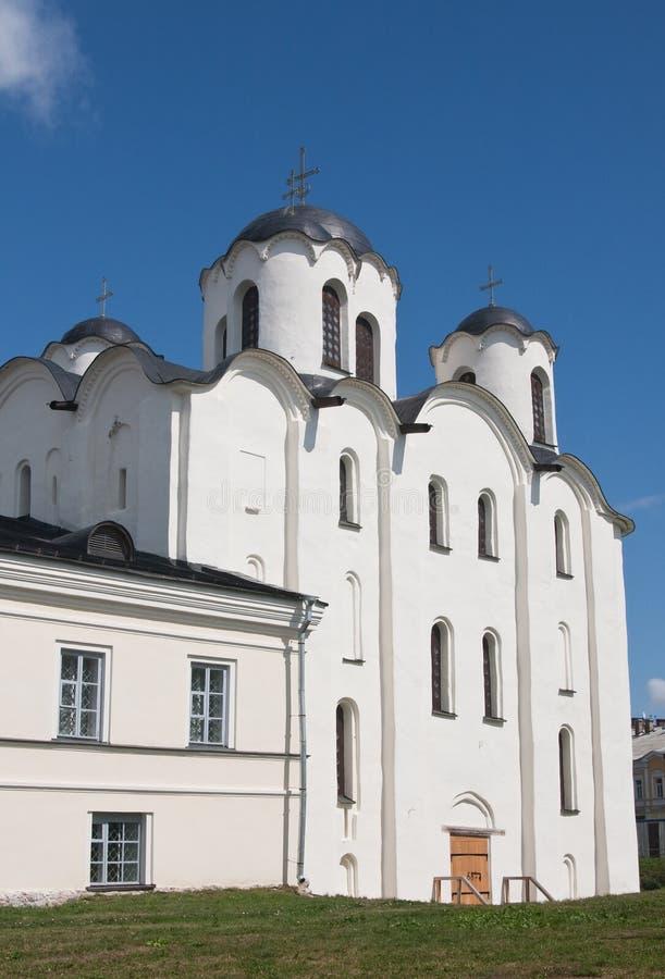 大教堂极大的尼古拉斯novgorod st 库存图片
