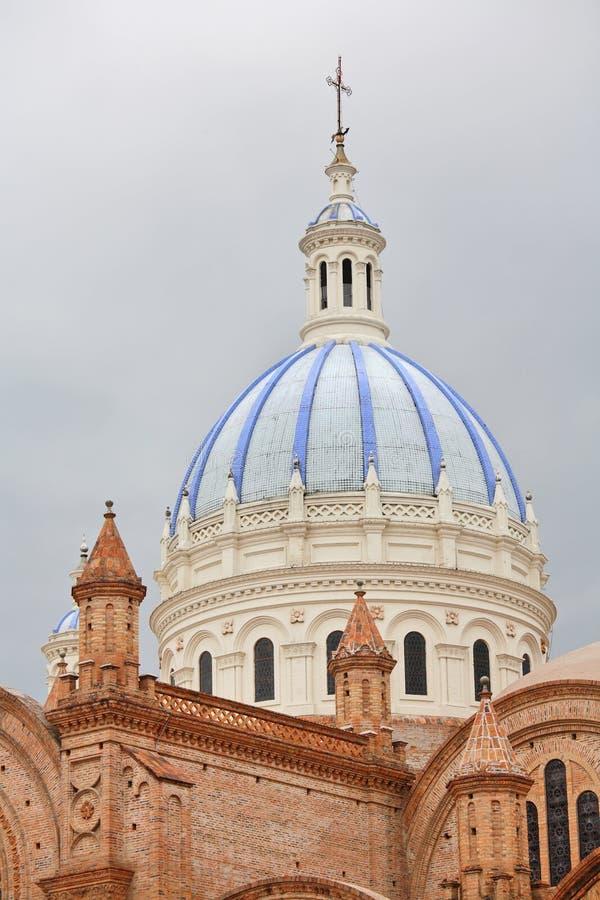 大教堂构想洁净的cuenca 免版税库存图片