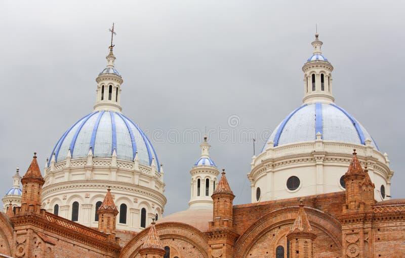 大教堂构想洁净的cuenca 库存照片