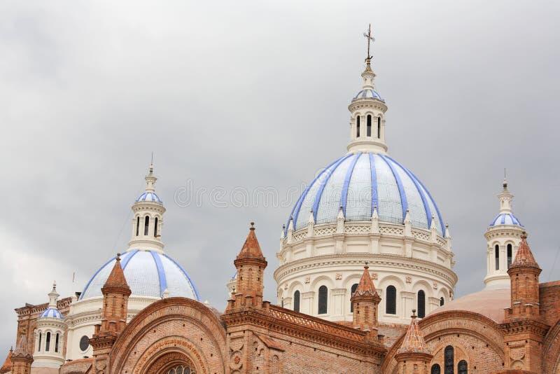 大教堂构想洁净的cuenca 库存图片