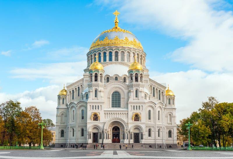 大教堂海军尼古拉斯圣徒 库存图片