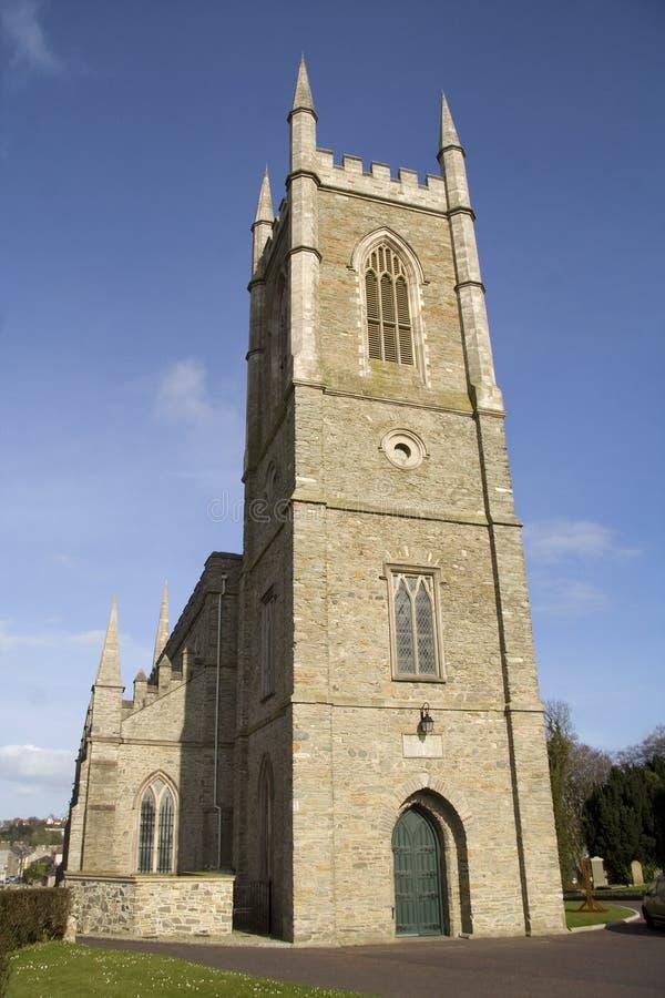大教堂爱尔兰语 免版税库存照片