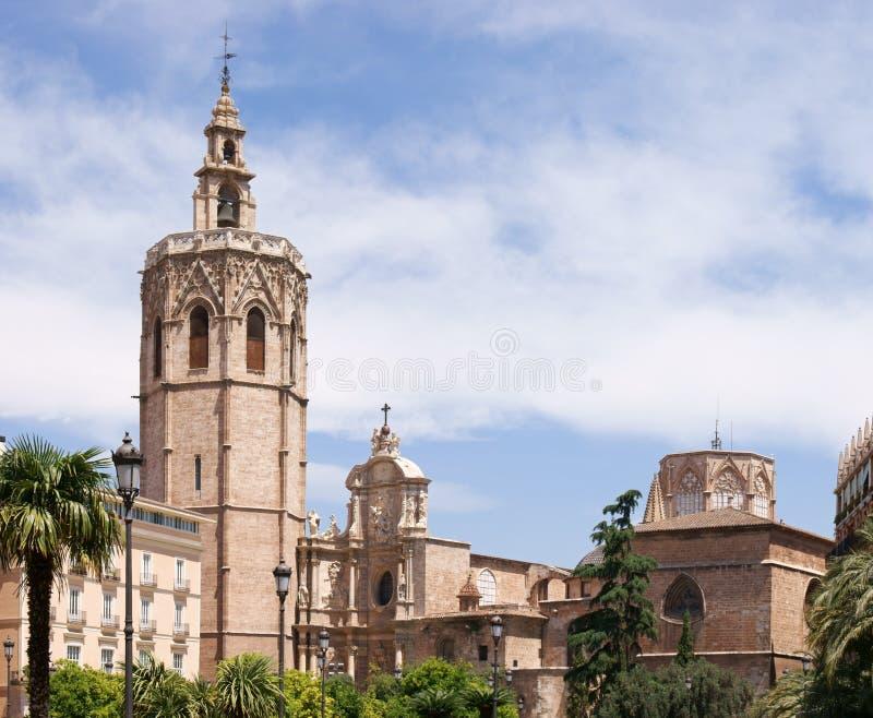 大教堂玛丽圣徒巴伦西亚 免版税库存照片