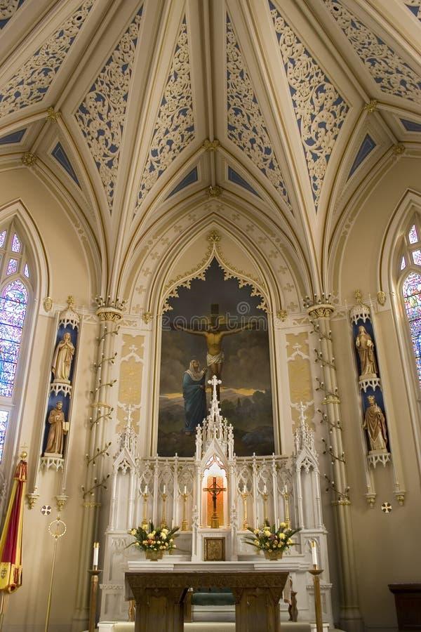 大教堂玛丽st 免版税库存照片