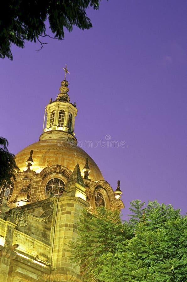 大教堂瓜达拉哈拉墨西哥 免版税图库摄影