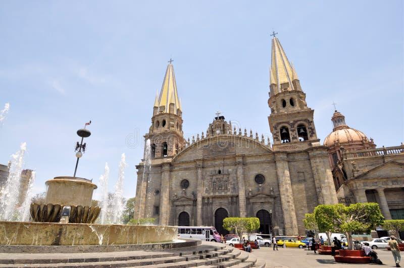 大教堂瓜达拉哈拉 库存照片
