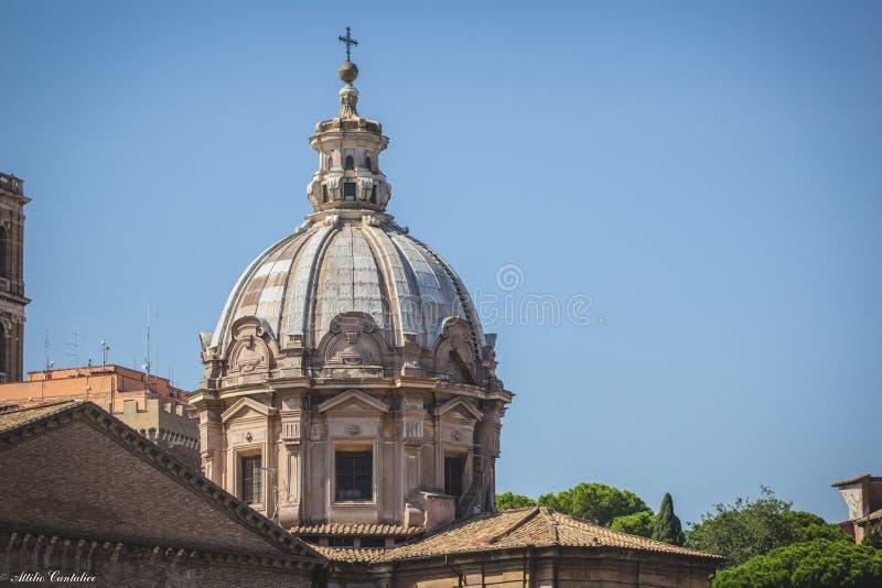 大教堂的圆屋顶 库存图片
