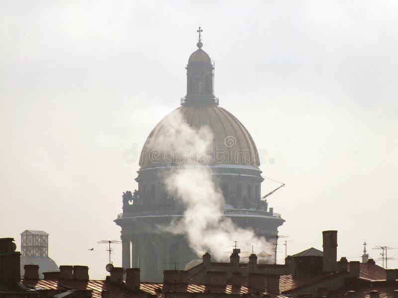 大教堂的圆顶 库存图片