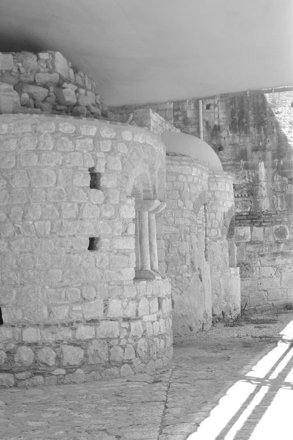大教堂的建筑学的细节 图库摄影