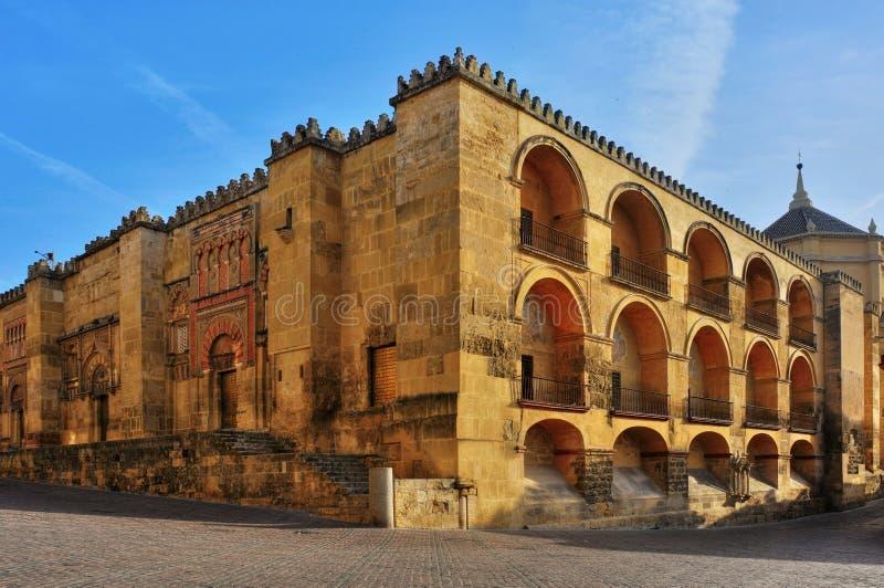 大教堂科多巴清真寺西班牙 免版税库存照片