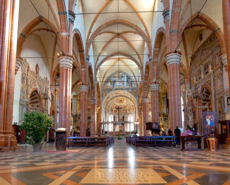 大教堂维罗纳 库存照片
