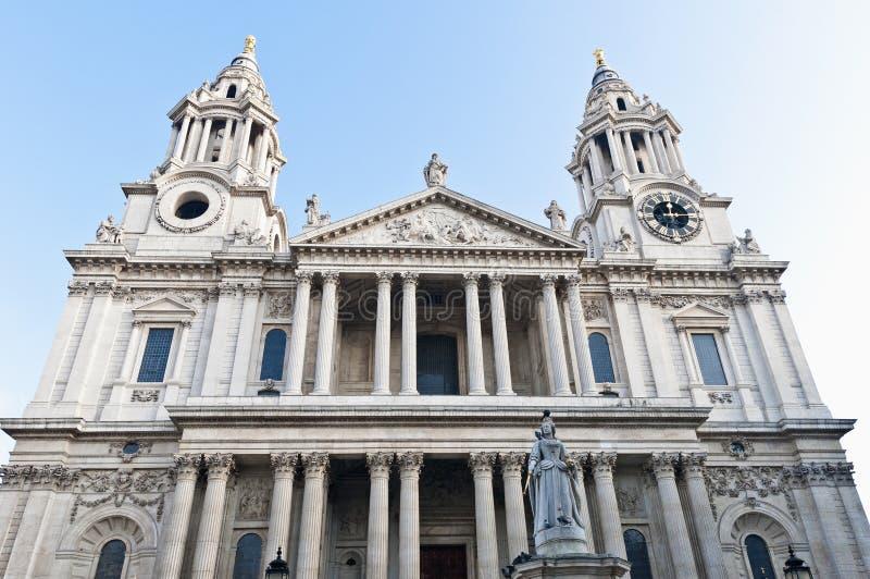 大教堂英国伦敦保罗圣徒 图库摄影