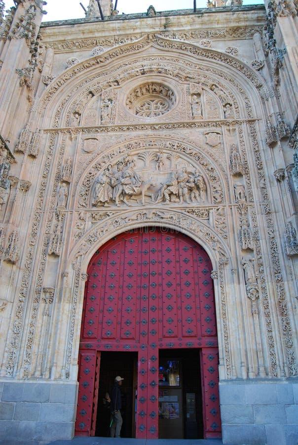 大教堂萨拉曼卡门 免版税库存照片
