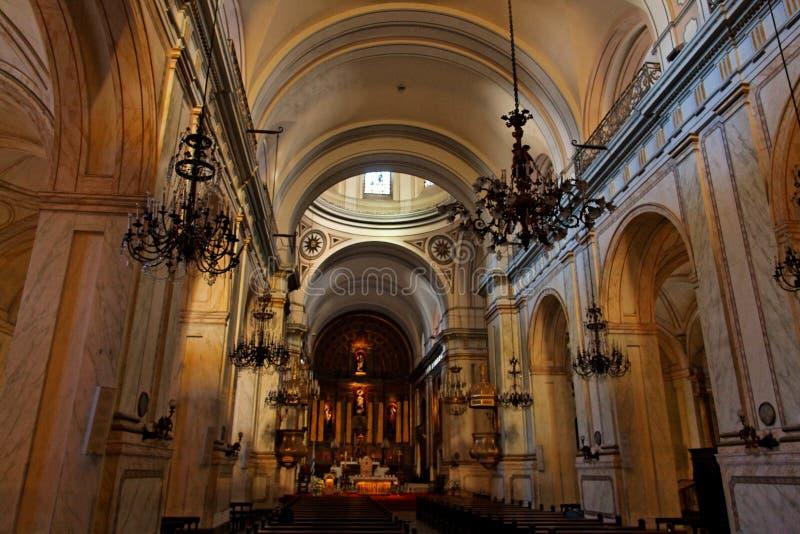 大教堂蒙得维的亚乌拉圭 库存照片