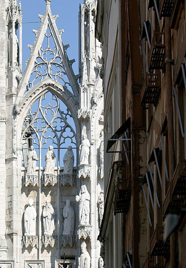 大教堂详细资料结构房子 图库摄影